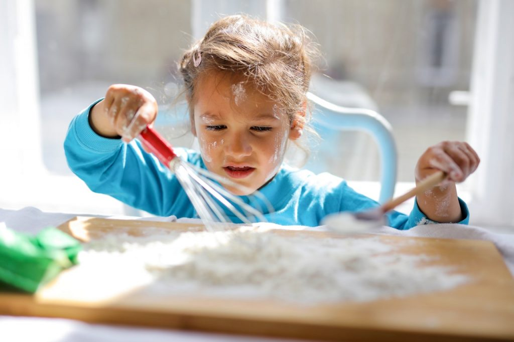 Get messy and get baking!